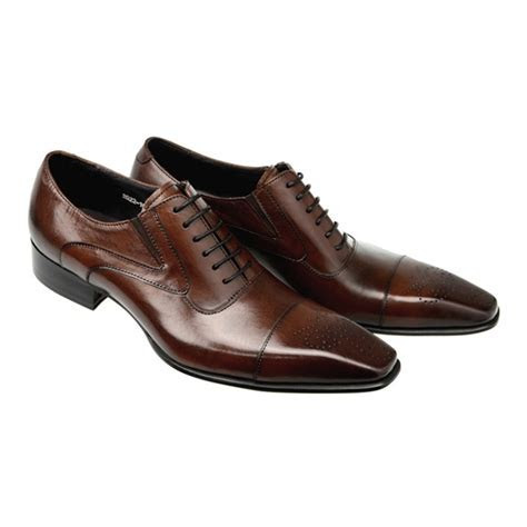Fashion Italian Men Shoes Genuine Leather Mens Dress Shoes