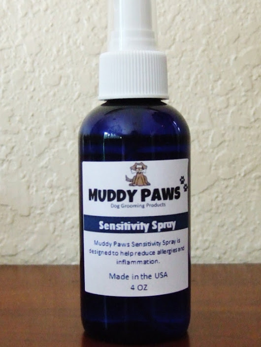 Muddy Paws All Natural Sensitivity Spray Dog Grooming