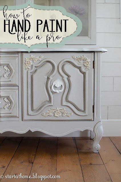 How To Hand Paint Furniture Like a Pro with Latex Paint