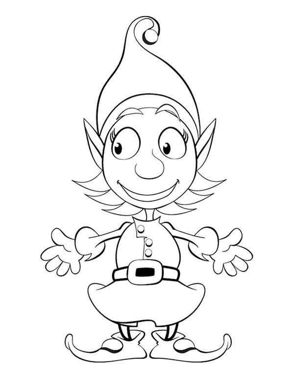 Free Printable Elf on the Shelf Coloring Pages Pdf Best of My Cup ... | 775x600