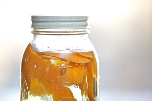 Making Infused Vinegar for Cleaning