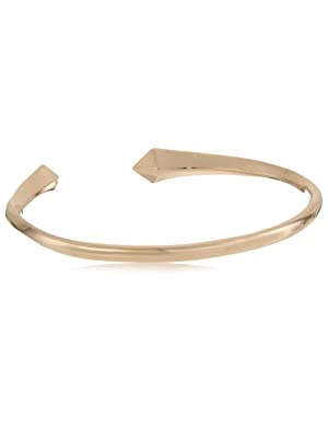 Made Her Think <br/>Gold Vermeil Open Spike Cuff Bracelet