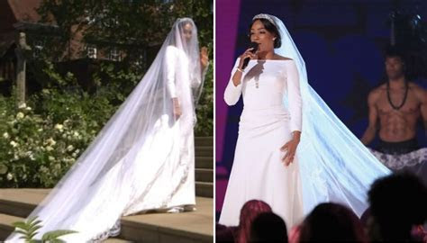 Tiffany Haddish wore a Meghan Markle wedding dress at the