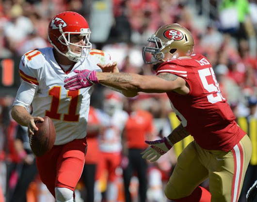 49ers analysis: Aaron Lynch's diet must include QB sacks