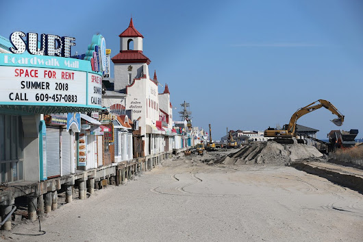 'A rare glimpse' at Shore: Ocean City without part of its boardwalk