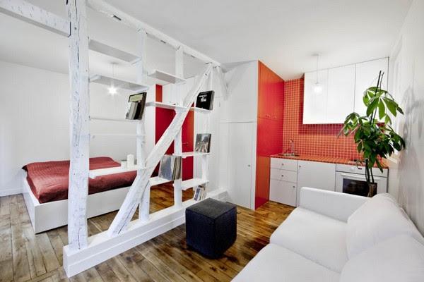 4 Creative Small Apartment Designs | InteriorHolic.
