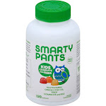 Smarty Pants Kids Fiber Complete Gummy Vitamins - 120 count