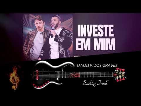 Backing Track pra Contra Baixo - INVESTE EM MIM - GUSTAVO LIMA - Play Along