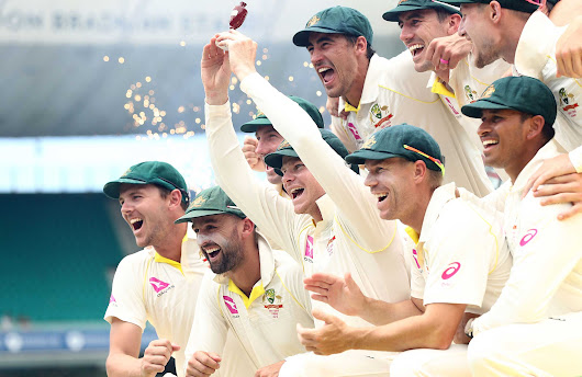 Australia romp to 4-0 Ashes victory