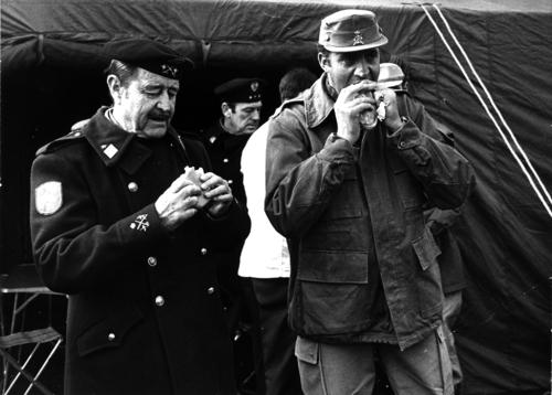 El rey Juan Carlos y Milans del Bosch