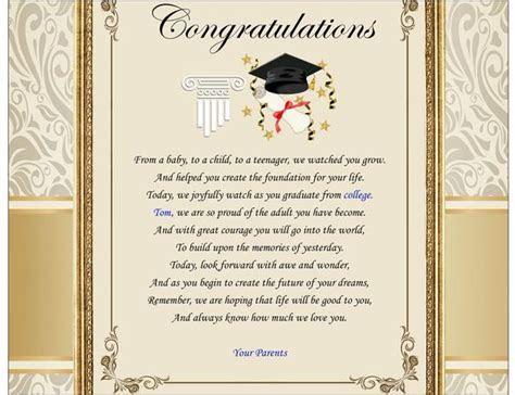 Congratulation College School Graduation Gift Graduate
