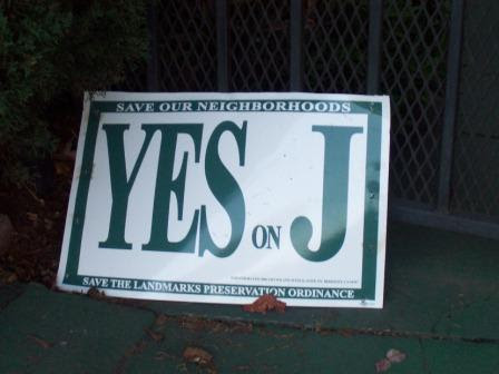 Measure J sign