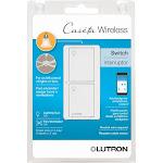 Lutron Caseta Wireless Smart Lighting Switch for All Bulb Types/ Fans, White, 5 Amp