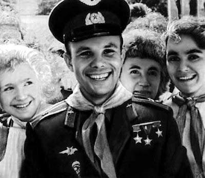 Юрий Гагарин в Артеке