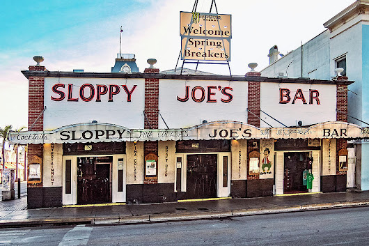 Sloppy Joe's Bar - Key West by Bob Slitzan