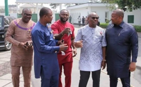 Governor Wike Presents SUVs To Rivers Lawmakers