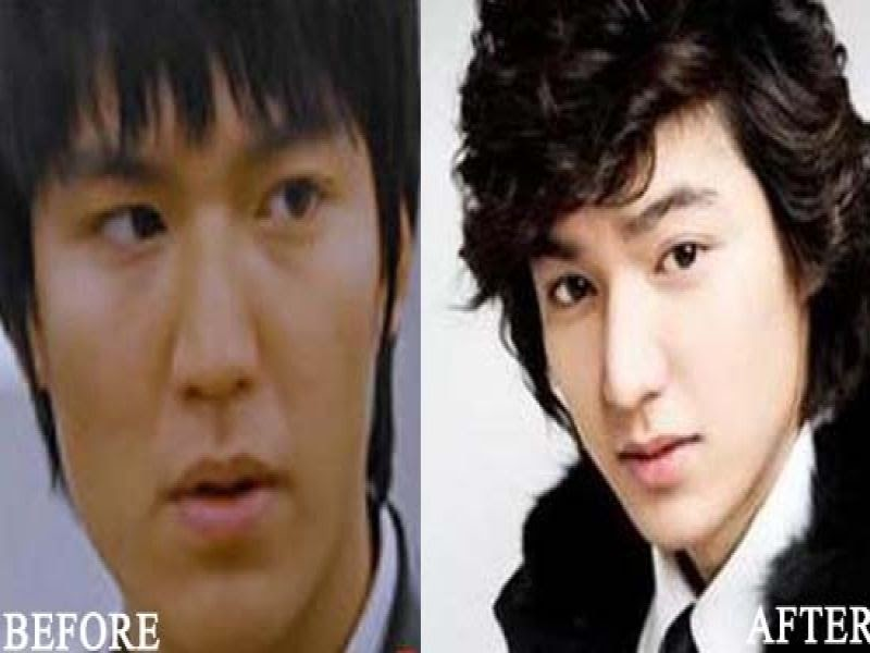 Korean Male Celebrities Without Makeup