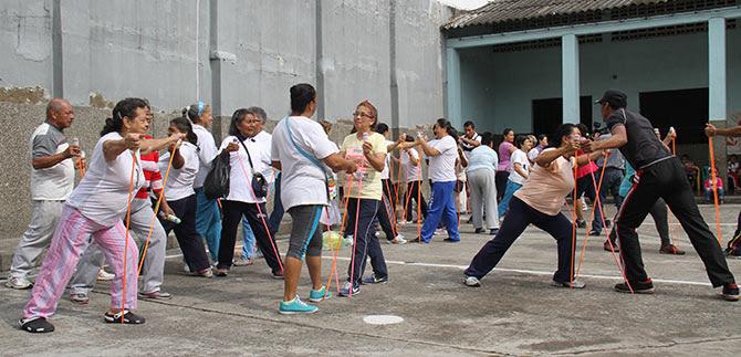 Secretaría de Salud convoca a los caleños a realizar actividad física para tener una vida saludable