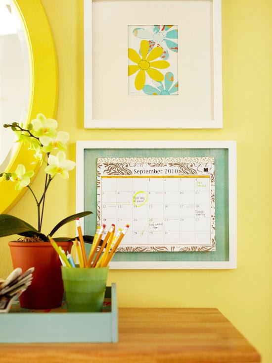 Calendar, wall art