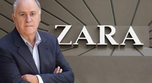 Εξωπραγματικό! Πόσα χρήματα βγάζει ο ιδιοκτήτης των Zara κάθε 30 δευτερόλεπτα;