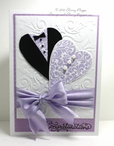 bridal shower cardsosherry - at splitcoaststampers