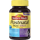 Nature Made Postnatal Multi+DHA, 200 mg, Softgels - 60 count bottle