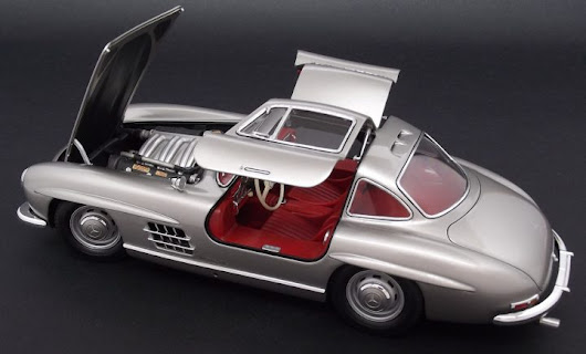 Building the Tamiya Mercedes 300SL #24338 1/24 scale