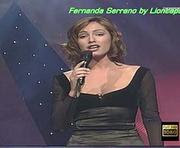Fernanda Serrano sexy no programa noite reis