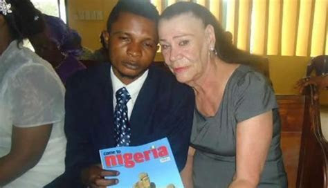 Nigerian man 28, marries 71 Year old white lady (Photos
