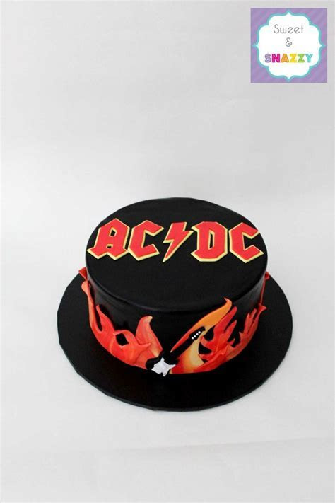 23 best images about CAKE ACDC on Pinterest   Birthday
