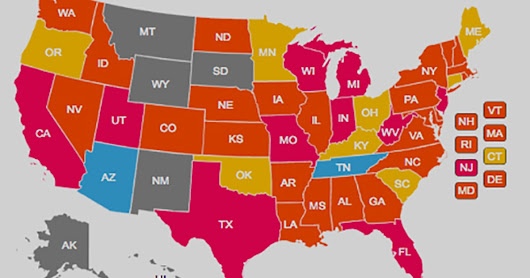 Interactive map: see what your state is doing to tackle hazing