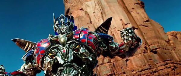 Optimus Prime returns in TRANSFORMERS: AGE OF EXTINCTION.