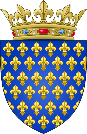 File:Arms of the Kingdom of France (Ancien).svg