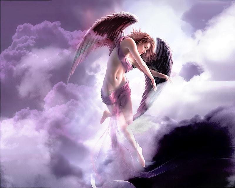 angel Mystical Magic Glitter Graphics Fantasy