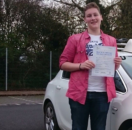 Driving Lessons Kilwinning - Mark Magee test pass