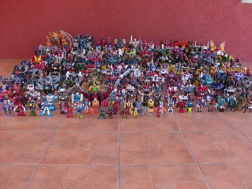 Flickr: mdverde - Mi Colección de Transformers (10-Abr-2009)