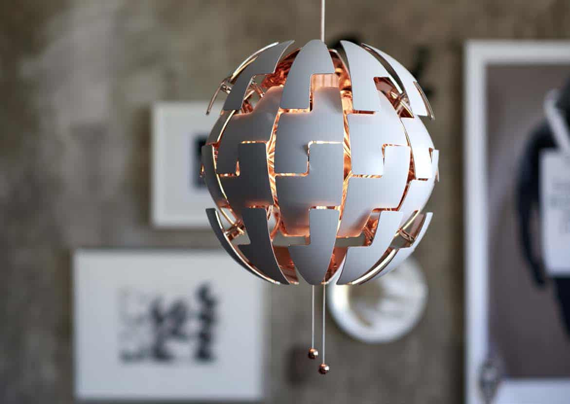 IKEA PS 2014 Pendant: a lamp that dims while changing looks