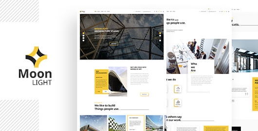 Moonlight PSD - Lunartheme - Wordpress Theme, Free HTML | PSD templates