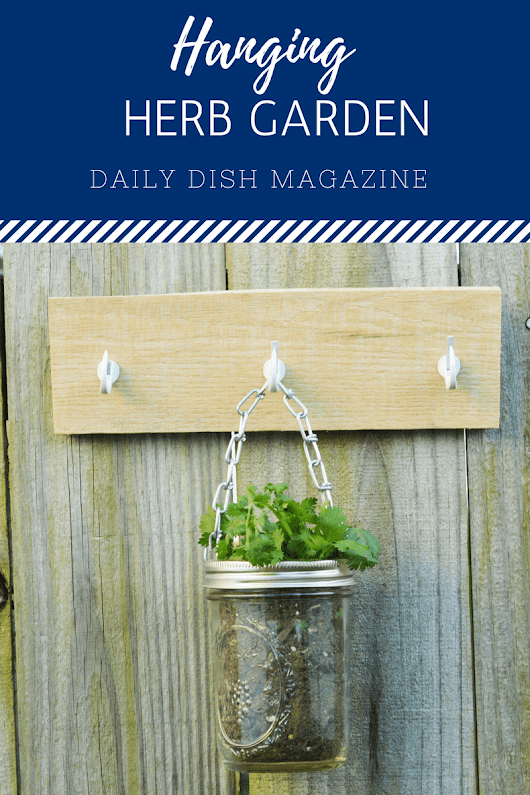 Easy Hanging Herb Garden DIY | Easy Home Projects