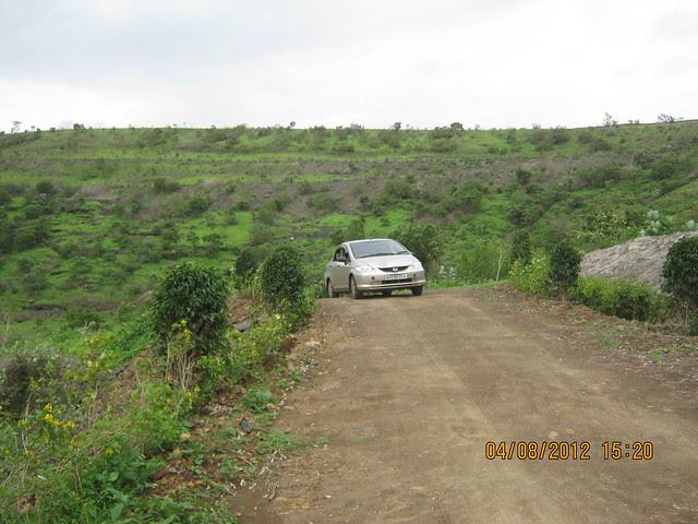 Cut, Demolished & Destroyed Hill of XRBIA Hinjewadi Pune - Nere Dattawadi, on Marunji Road, approx 7 kms from KPIT Cummins at Hinjewadi IT Park - 143