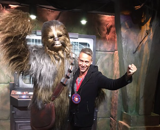 Chewbacca Has a New Home at Disneyland