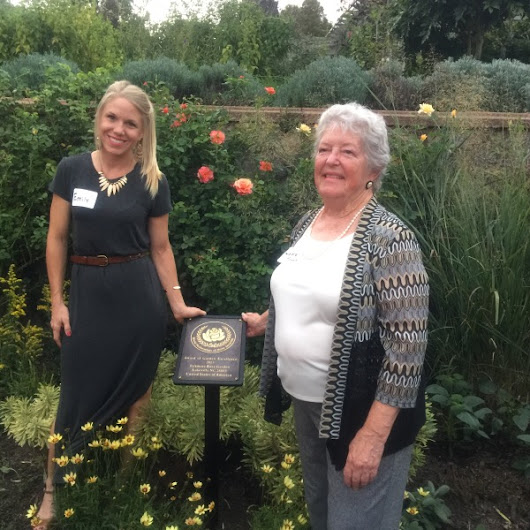 WorldFederation of Rose Societies Awards Biltmore's Rose Garden, Asheville, NC, The Prestigious'Award of Garden... (with images) · gagasgarden
