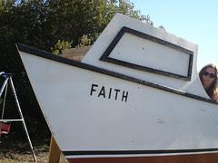 on the good ship Faith
