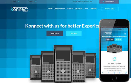 Konnect a Web Hosting Flat Bootstrap Responsive Web Template by w3layouts