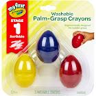 Crayola My First Washable Palm Grasp Crayons