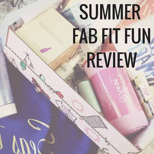 Summer Fab Fit Fun Review  Happy Stylish Fit