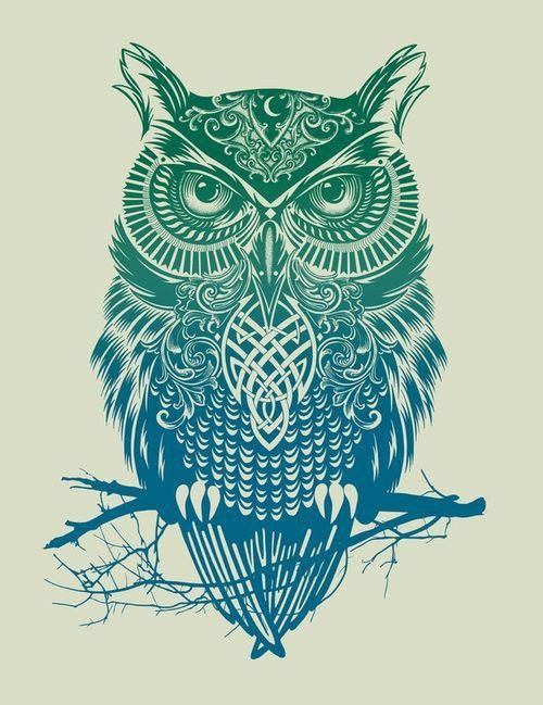 Symbol Of The Owl Gnostic Warrior