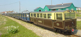 the rear coach is called Marjorie