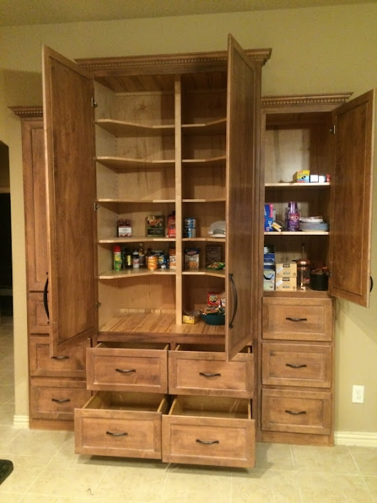 Custom Kitchen Cabinets in Houston | Solid Wood Custom Cabinets