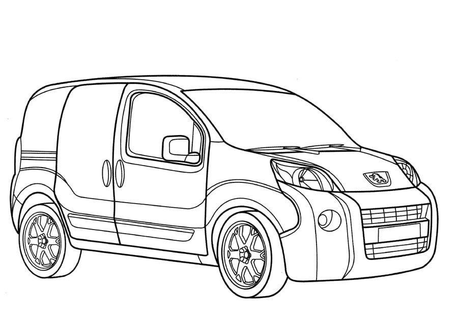 Ausmalbilder: Peugeot zum ausdrucken, kostenlos, für ...